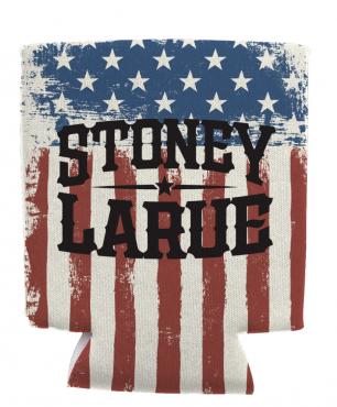 Drink Koozie: Stoney LaRue USA Koozie