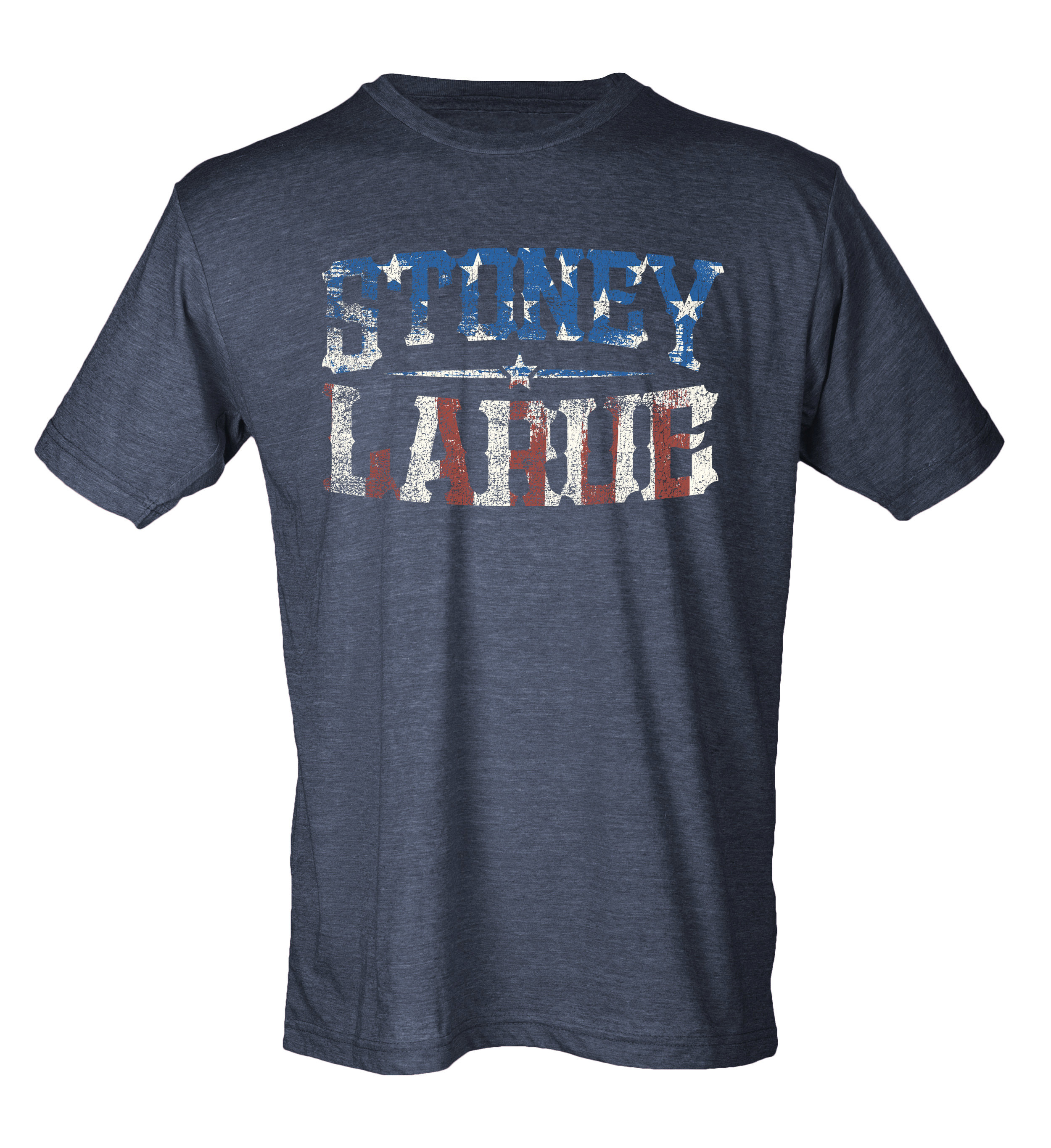 "Men's T-Shirt: ""Gettin' Tore Up Red, White, Blue - ""Stoney LaRue T-Shirt GTURWBT_BIN011"