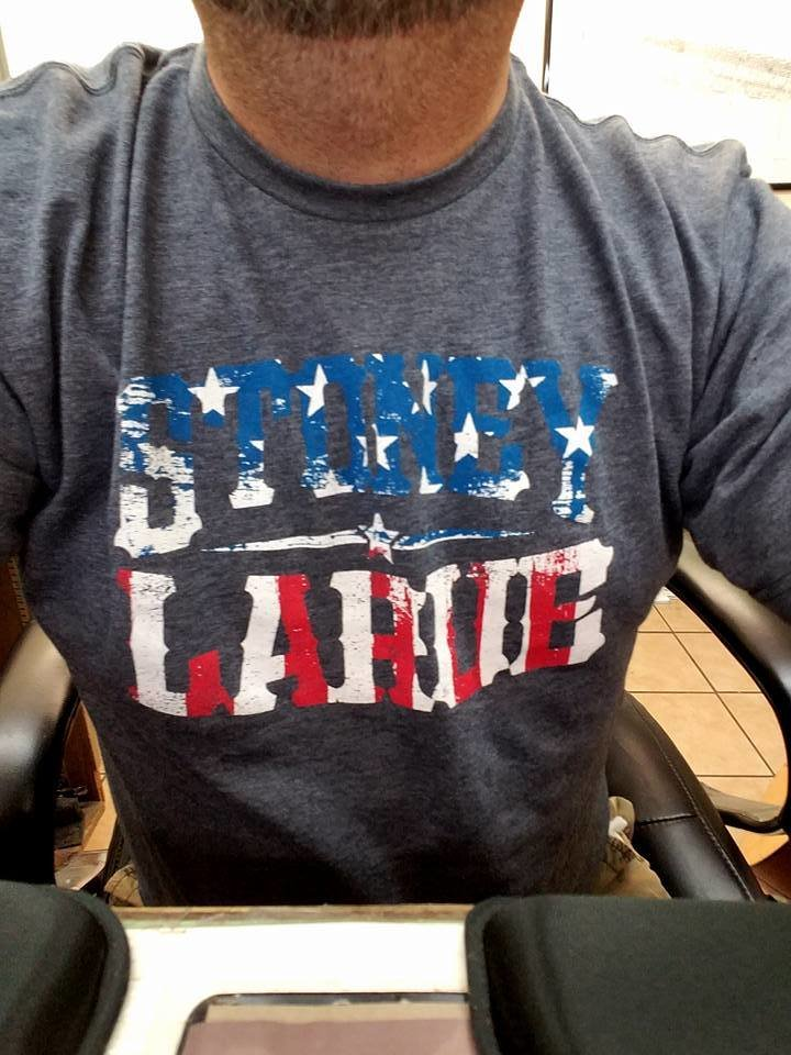 "Men's T-Shirt: ""Gettin' Tore Up Red, White, Blue - ""Stoney LaRue T-Shirt"
