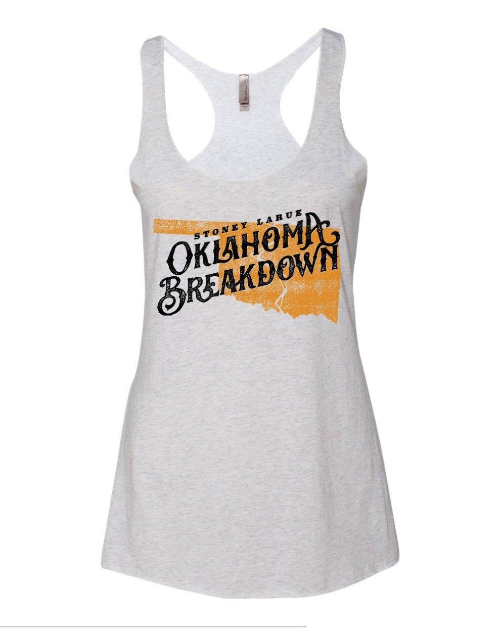 Women's  Oklahoma Breakdown Tank Top Women's  Oklahoma Breakdown Tank Top