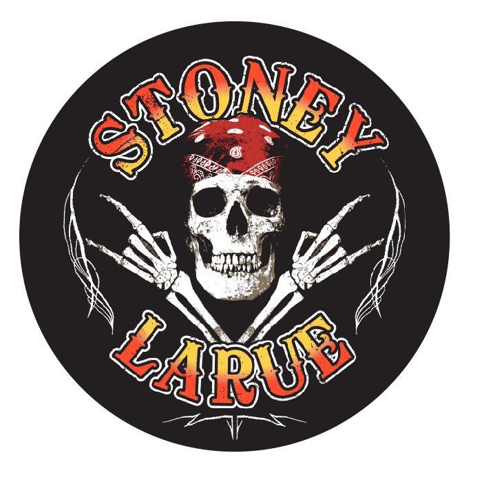 Stoney LaRue Skull Sticker SkullBandanaSticker_BIN002