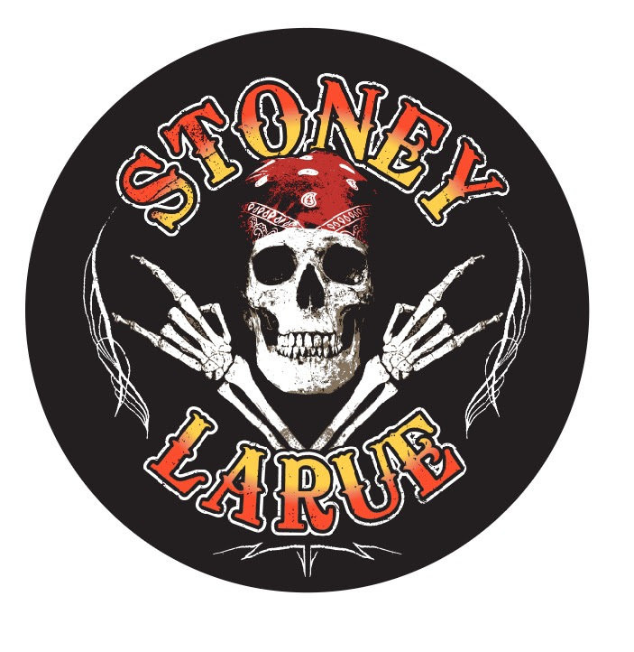 Stoney LaRue Skull Sticker