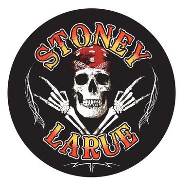 Stoney LaRue Skull Sticker