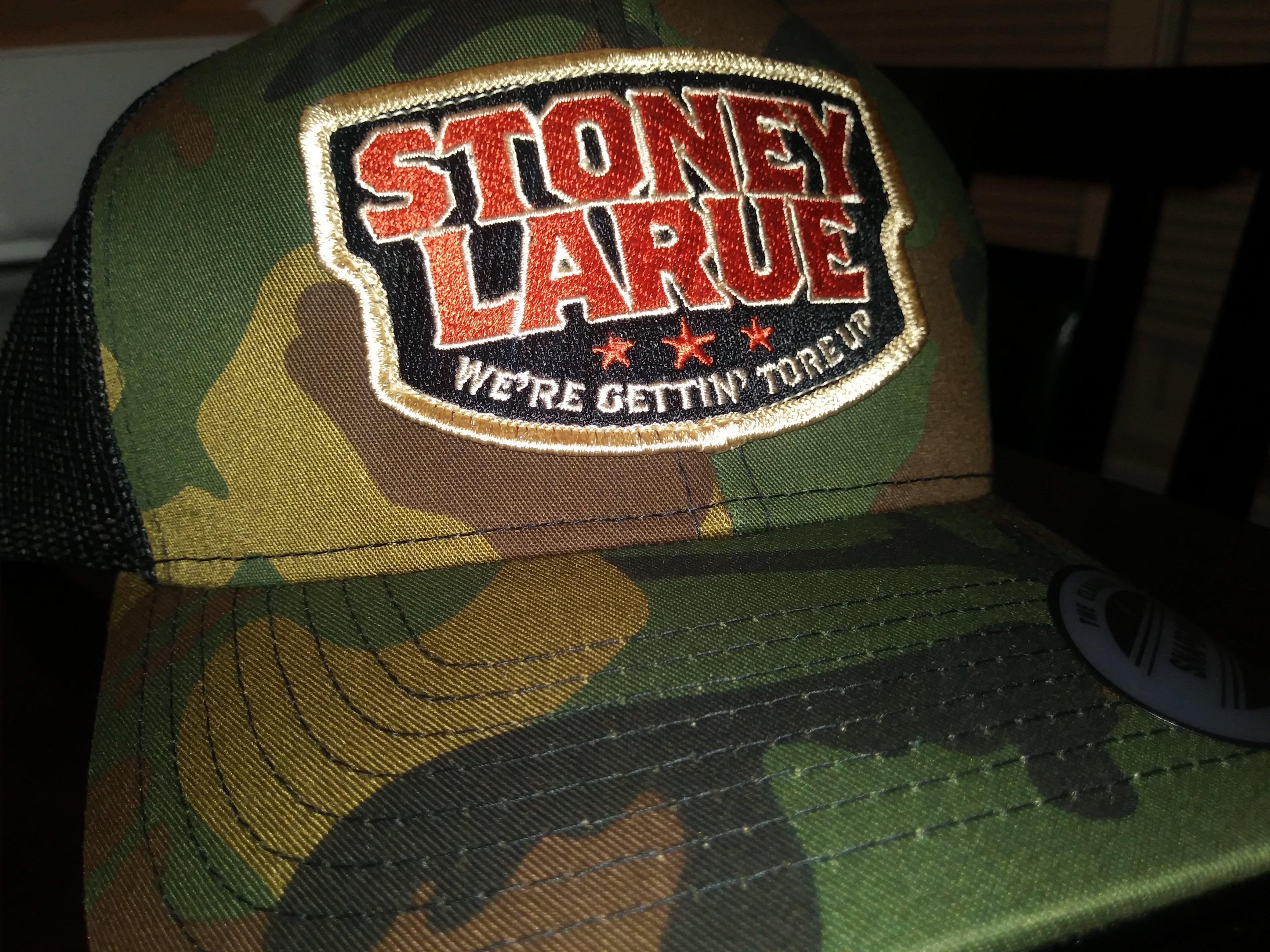 "Camo ""Stoney LaRue"" Gettin' Tore Up Hat (Snapback) HATCAMO_TOREUP_BIN005"