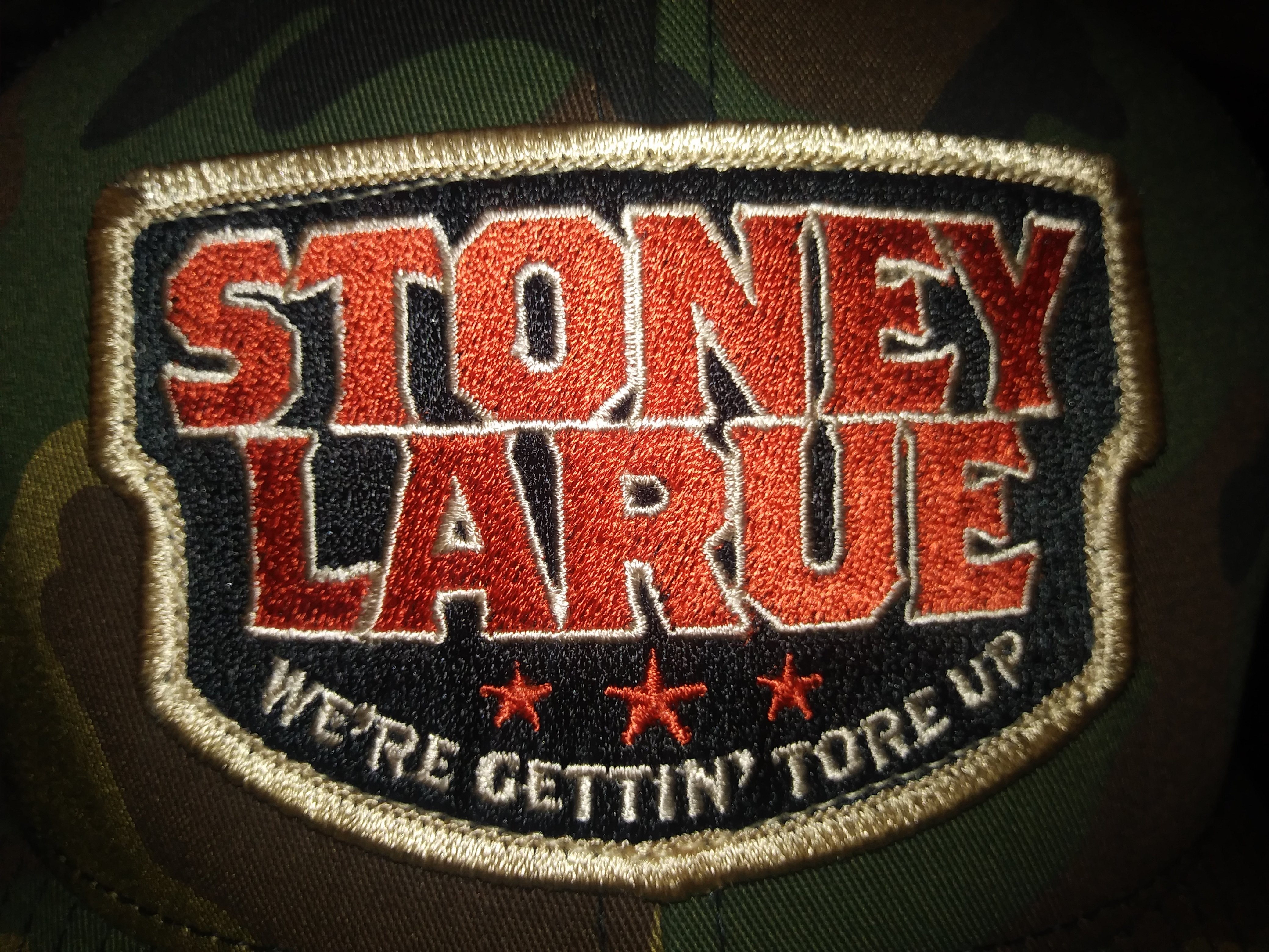 "Camo ""Stoney LaRue"" Gettin' Tore Up Hat (Snapback)"