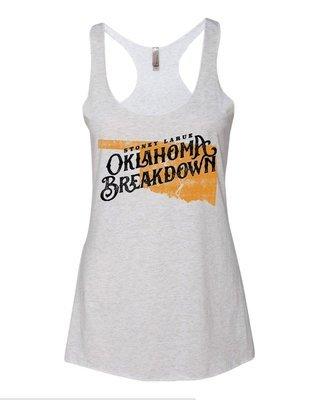 Women's  Oklahoma Breakdown Tank Top