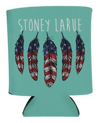 American Feather Koozie