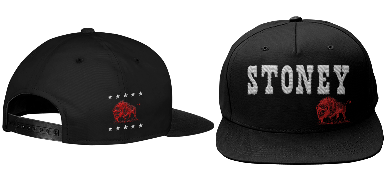 Red Buffalo Stoney LaRue Hat - Snapback RedBuffHatSnap_BIN005