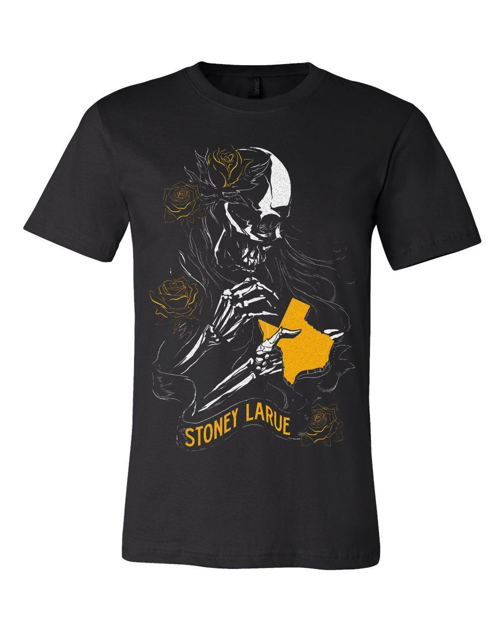 Yellow Texas Rose T-Shirt