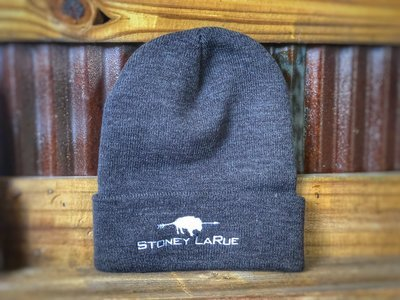 Stoney LaRue Beanie (Standard, Available in Gray or Dark Gray)
