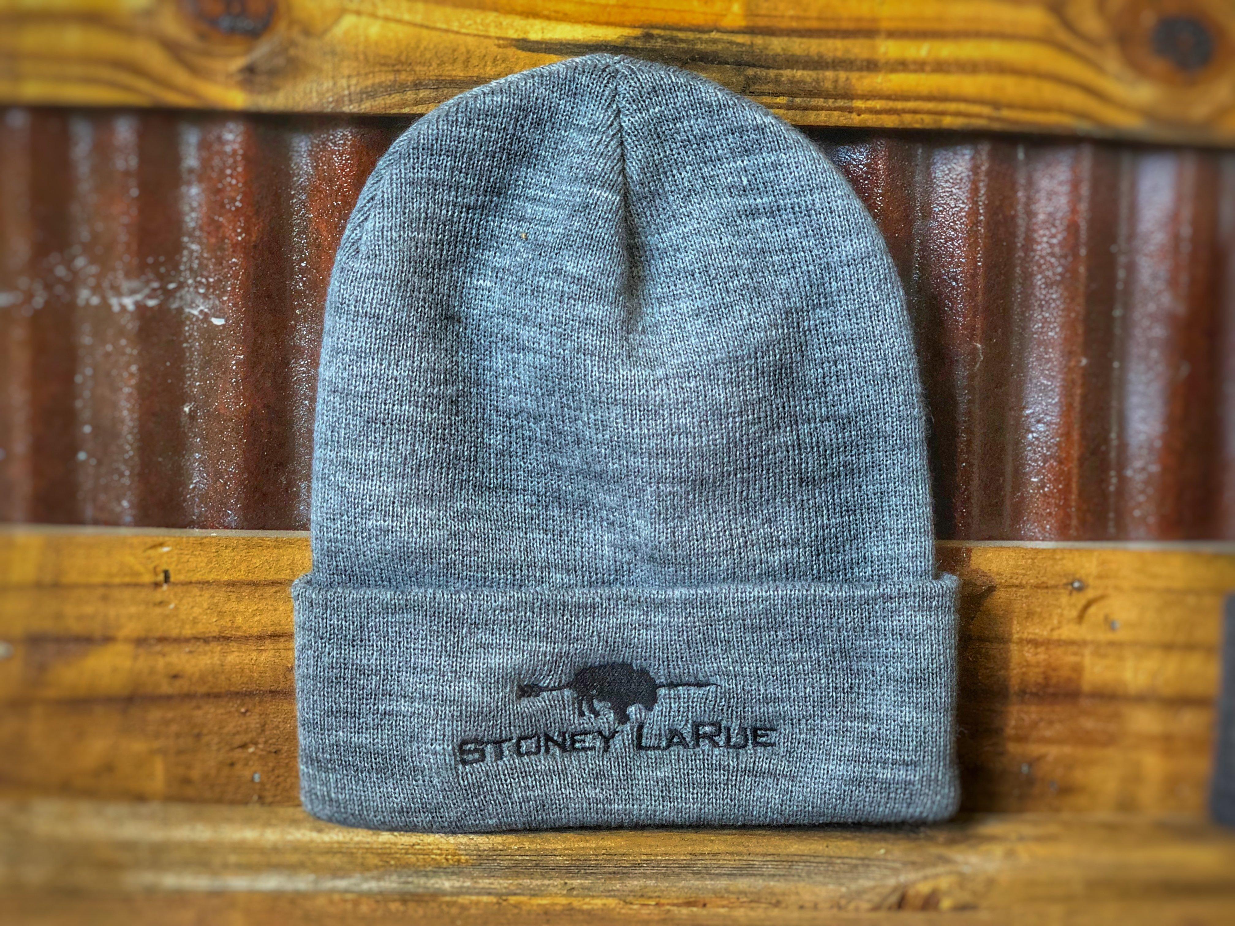 Stoney LaRue Beanie (Standard, Available in Gray or Dark Gray)