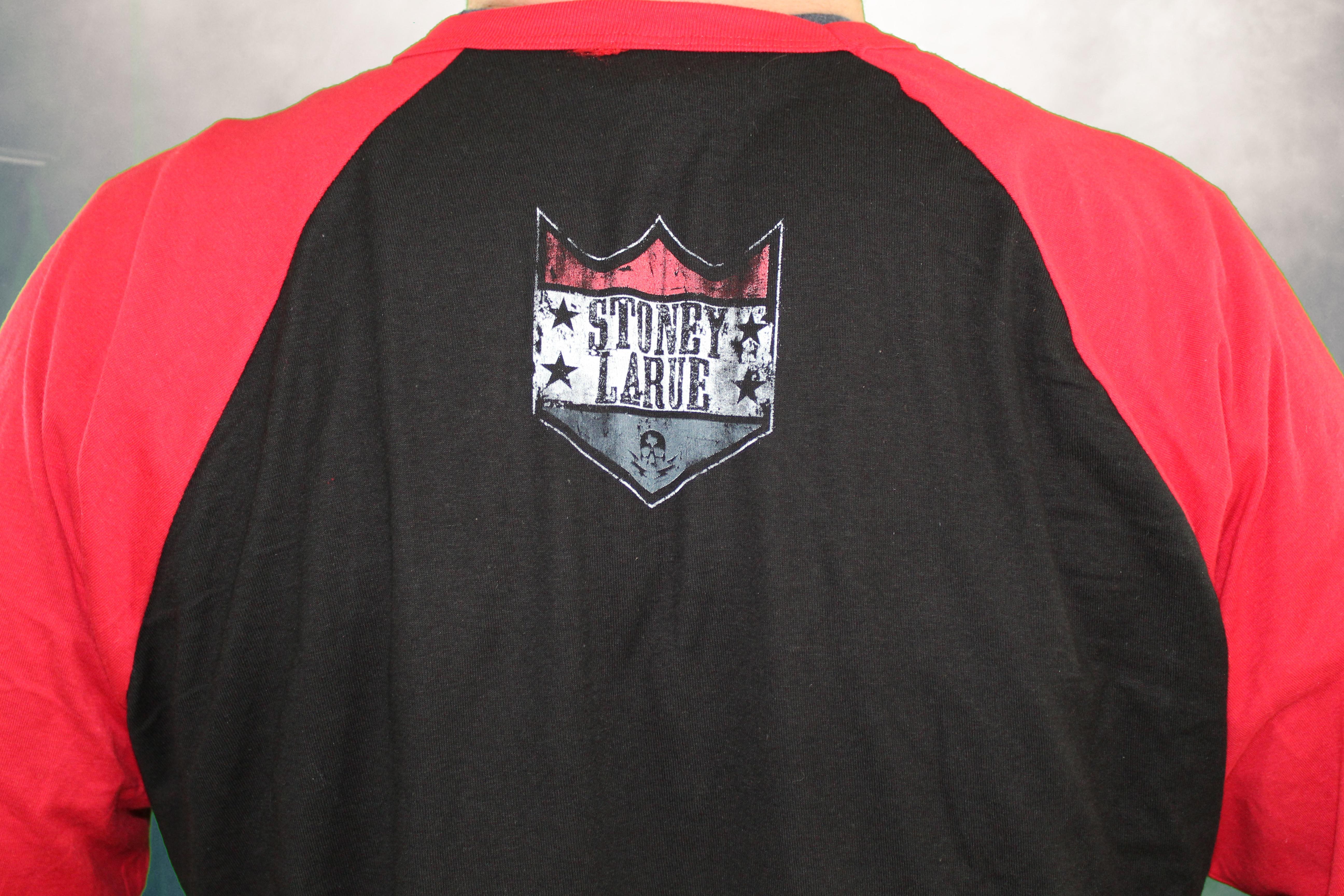 Stoney LaRue Shield Logo - Red 3/4 Shirt