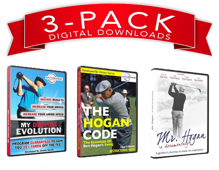 3 Pack Deal - The Hogan Code, My Driving Evolution, & Mr. Hogan (Digital Downloads) ALL3