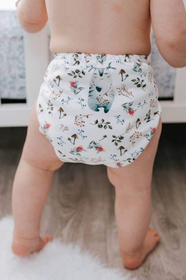 Milan & Odile - Couche lavable Minky pour enfant 26007