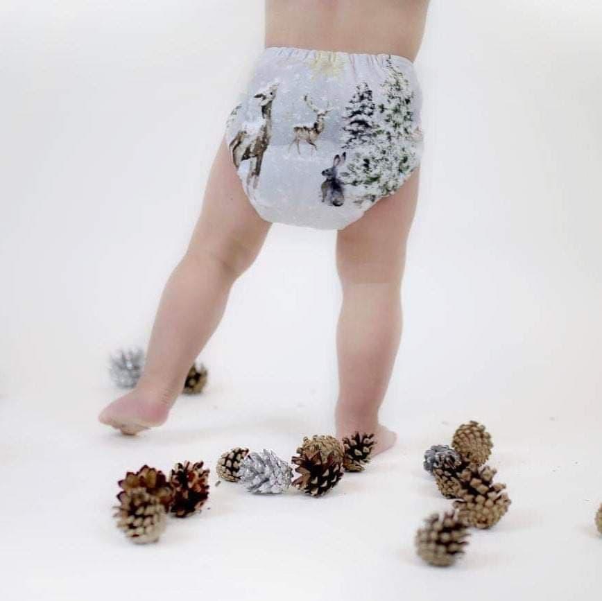 Milan & Odile - Couche lavable Minky pour enfant