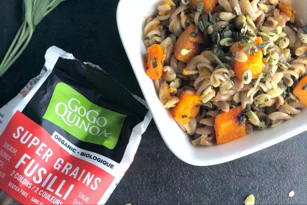 Gogo quinoa - Super Grains Fusilli 2 couleurs sans gluten bio1Kg Vrac 3063
