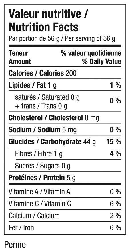 Gogo quinoa - Penne Amarante bio sans gluten 1Kg Vrac