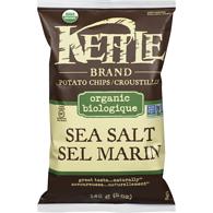 Kettle Brand - Croustilles Biologiques Sel Marin 142g TX19077