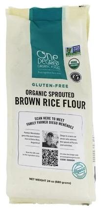 One Degree - Farine de riz germée sans gluten biologique 680g 3066
