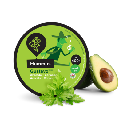 GoPotLuck – Hummus Gustavo avocat bio 400g