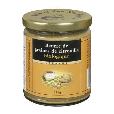 Nuts to You - Nut Butter Beurre de graines de citrouille crémeux biologique 250g