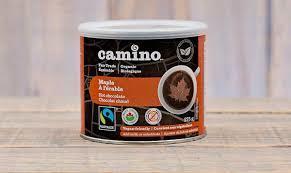 Camino - Chocolat chaud érable 1Kg Vrac bio 26010
