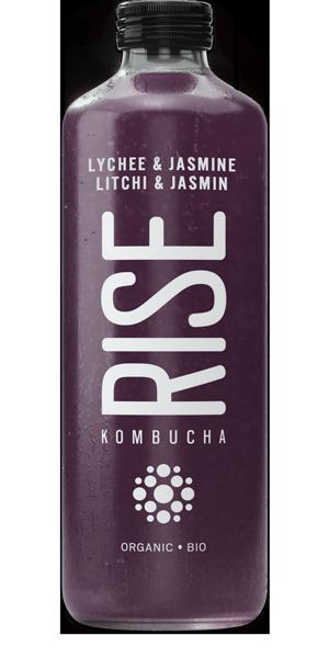Rise - Kombucha litchi et jasmin bio 1L TX10078