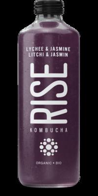 Rise - Kombucha litchi et jasmin bio 1L