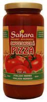 Sahara - Sauce a Pizza herbes italiennes bio 500ml