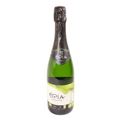Opia - Vin blanc pétillant sans alcool bio 750ml