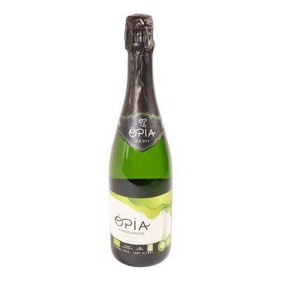 Opia - Vin blanc pétillant sans alcool bio 750ml