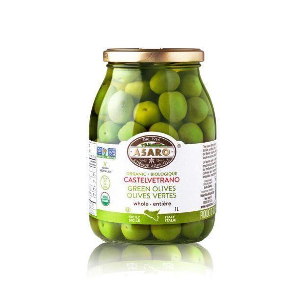 Asaro - Olives vertes biologiques 1L