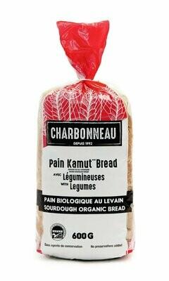 Charbonneau - Pain frais biologique kamut blé khorasan avec légumineuses