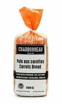 Charbonneau - Pain frais biologique aux carottes