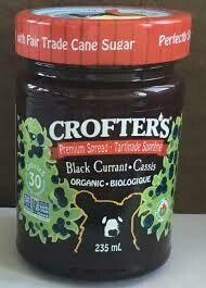 Crofters - Tartinade Cassis Premium bio 235ml