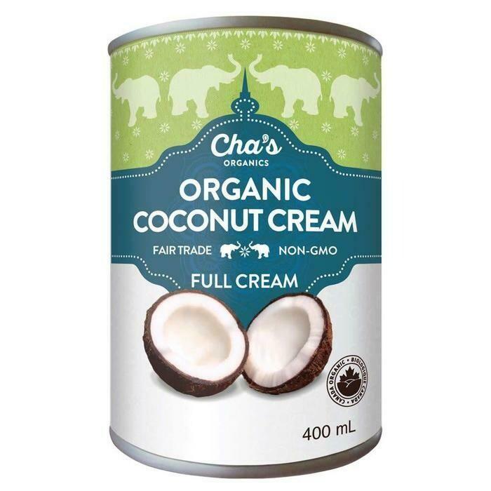 Cha's - Creme de coco bio equitable 400ml