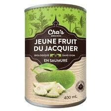Cha's - Jeune Jacquier en saumure 400ml biologique
