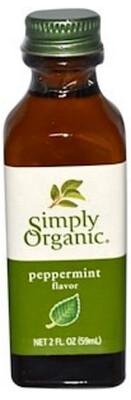 Simply Organic - Extrait de menthe poivree biologique 59ml