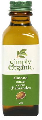 Simply Organic - Extrait d'amandes biologique 59ml