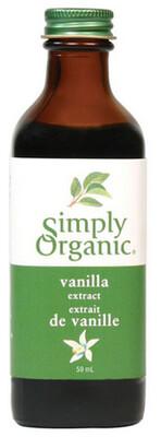 Simply Organic - Extrait de vanille biologique 59ml