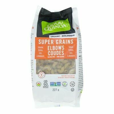 GogoQuinoa - Pates de quinoa super grains en coudes 1Kg Vrac