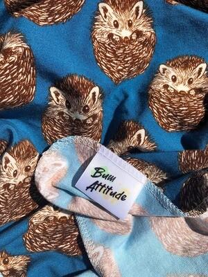 Bum Attitude - Couche Plate Jersey Herisson bebe 24x24