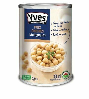 Yves - Pois chiches bio 398g