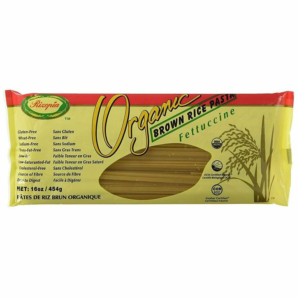 Rizopia - Pates Fettucini de riz brun biologique 454g