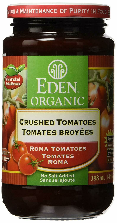 Eden good - Tomates broyees sans sel bio 398ml