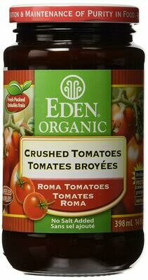 Eden good - Tomates broyees sans sel bio 398ml