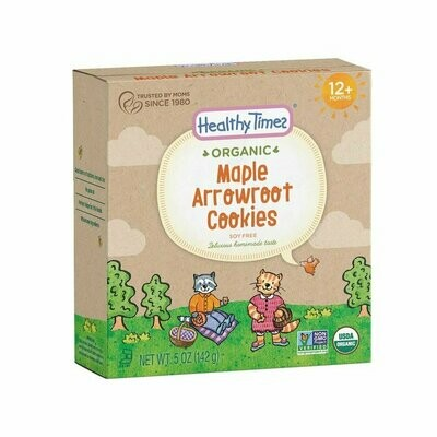 Heatly Times - Biscuits Hugga Bear amarante érable pour enfant bio 142g