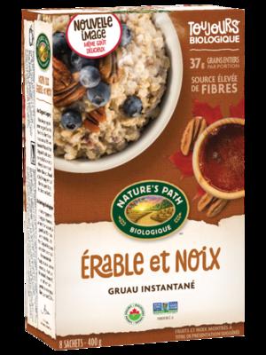 Nature's Path - Gruau erable noix bio 8 sachets 400g
