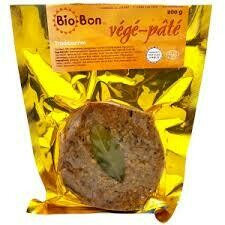 Biobon – Vegepate traditionnel petit format 200g Bio 77%