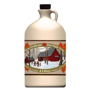 Gallon de sirop d'érable biologique